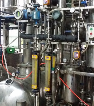 Processing of Resina Raw Materials to Extract
